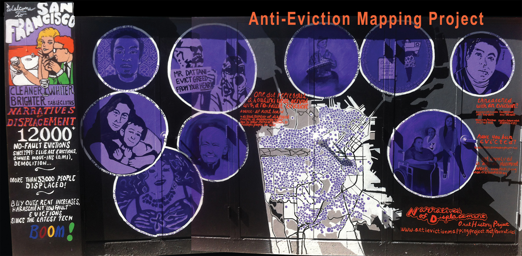 "Guest Talk: Erin McElroy, ""On the Work of the Anti-Eviction Mapping Project"""