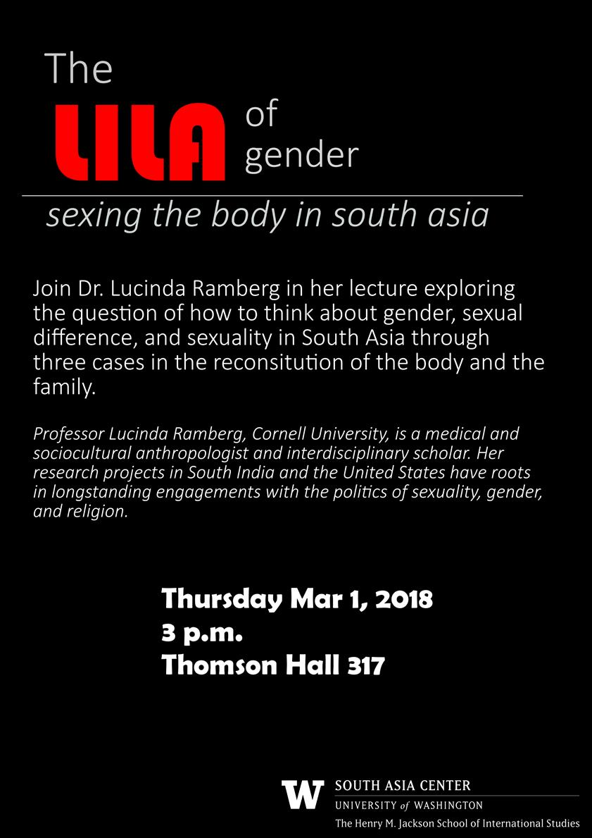 The Lila of Gender: Sexing the Body in South Asia