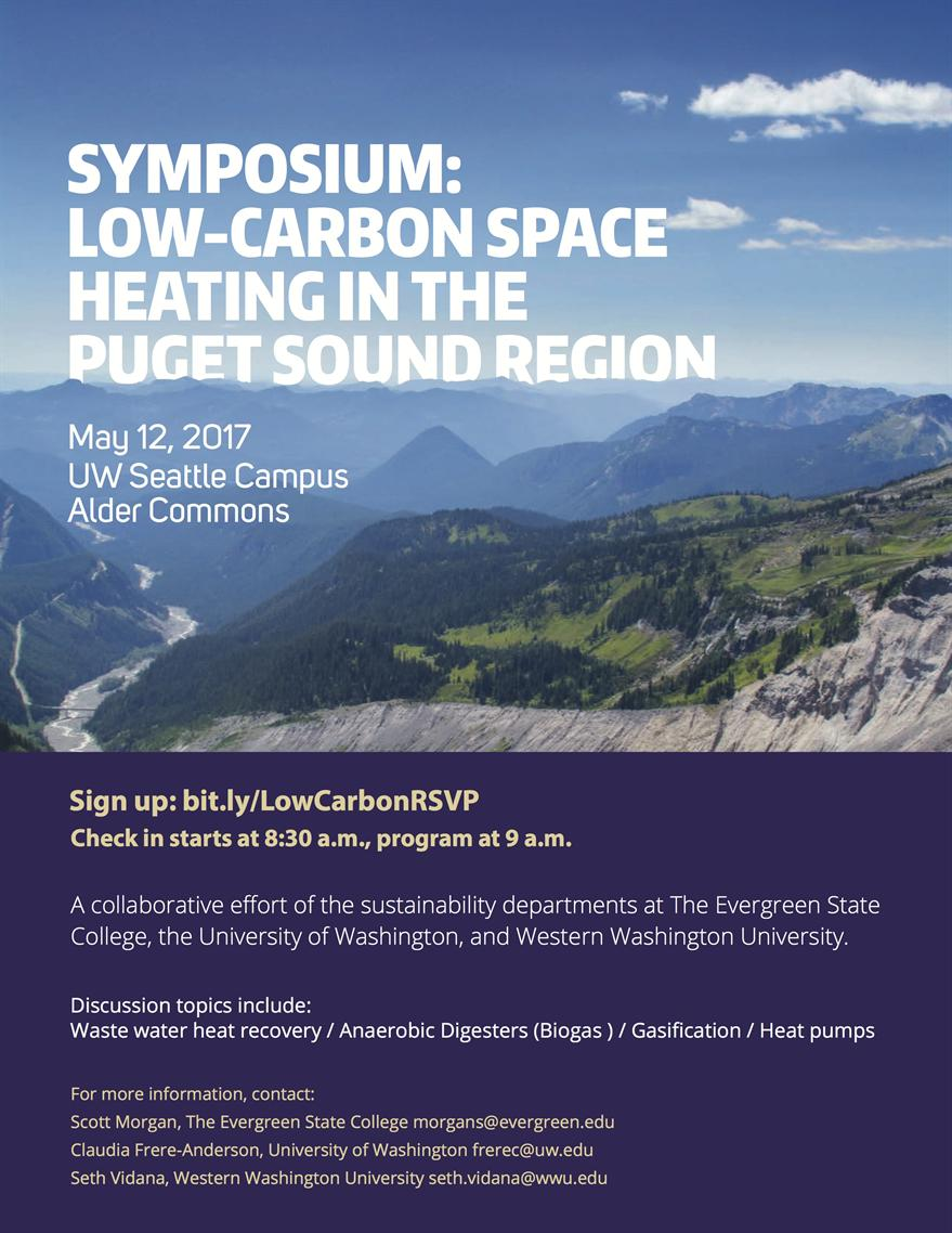 Low-Carbon Space Heating Symposium