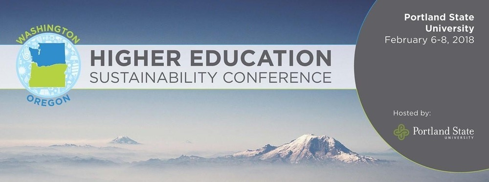 Washington & Oregon Higher Education Sustainability Conference