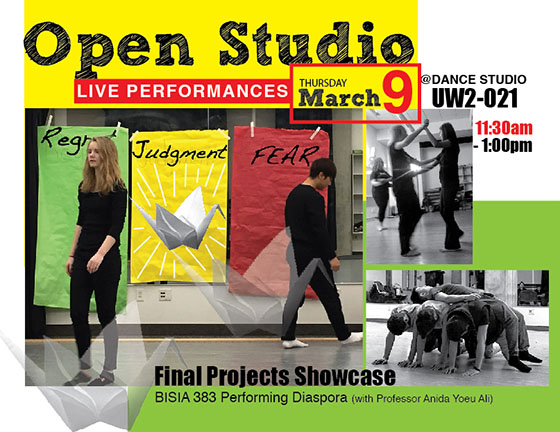 Open Studio: Final Performance Showcase