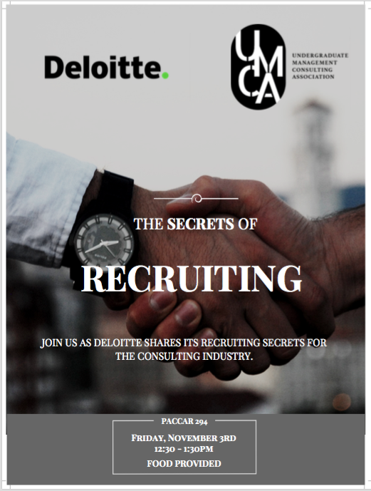The Secrets of Recruiting | Presented by: Deloitte