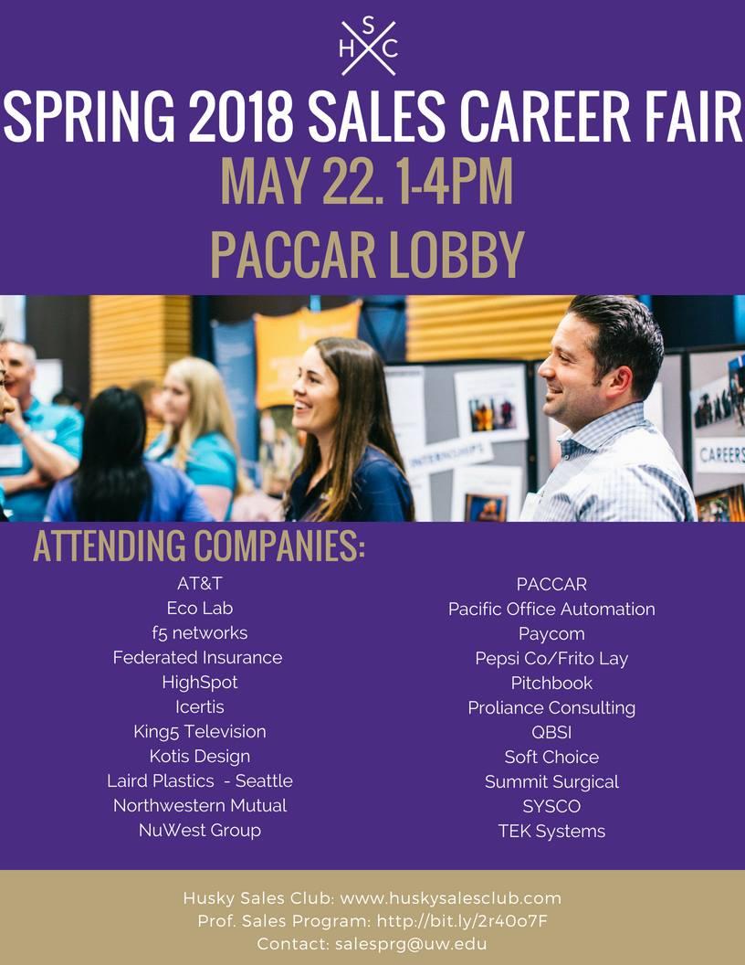 Spring Sales Career Fair
