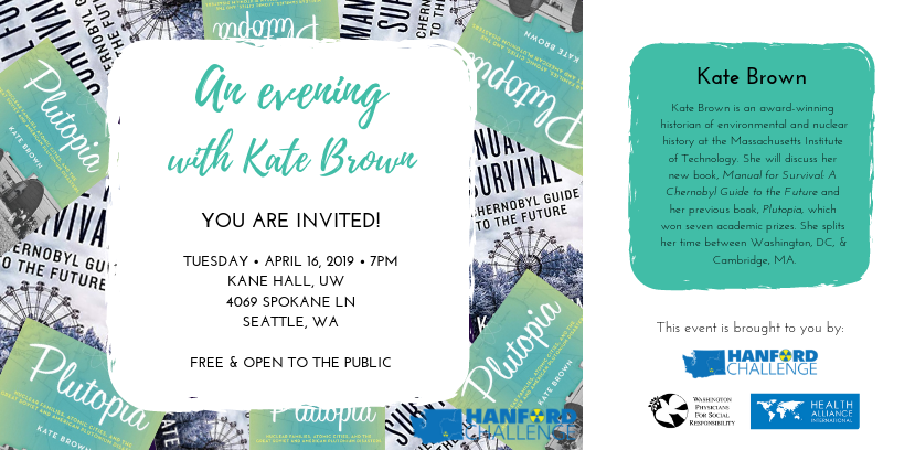 An Evening with Kate Brown