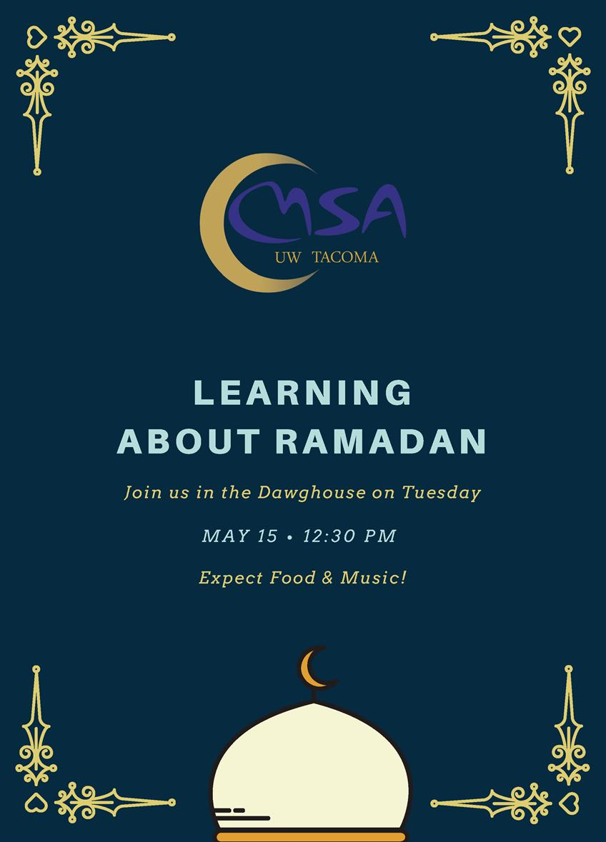 Learn about Ramadan at UWTea Time