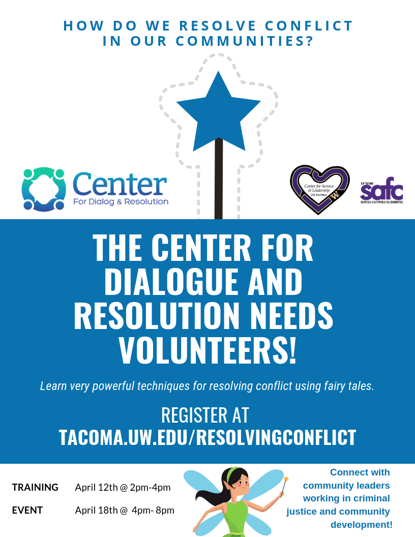 Dialogue and Dispute Resolution Volunteer Training