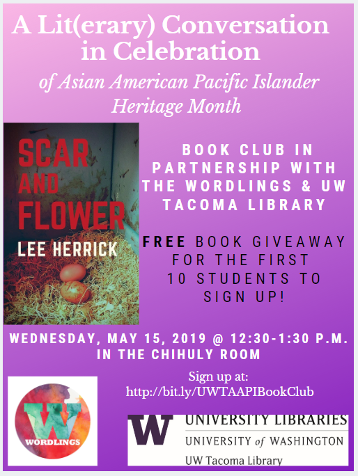 A Lit(erary) Conversation in Celebration of Asian American Pacific Islander Heritage Month