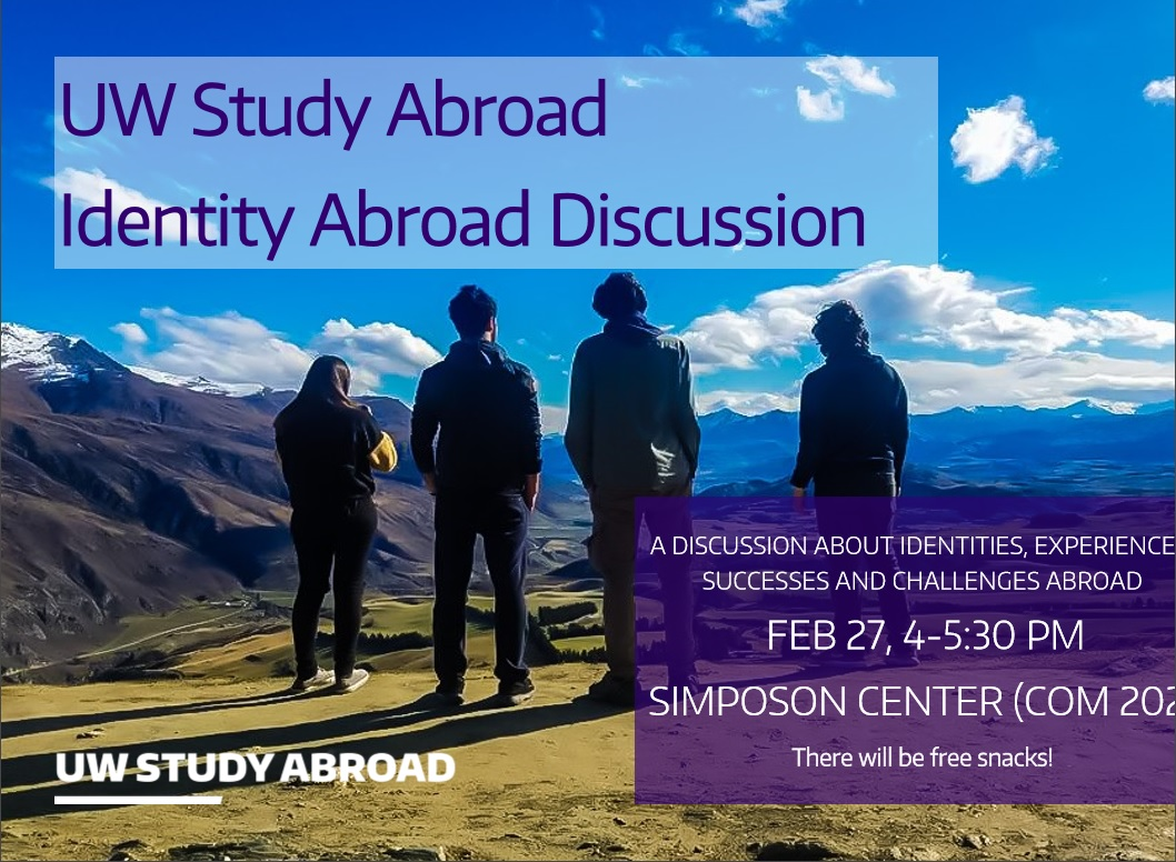 Identity Abroad Discussion Panel