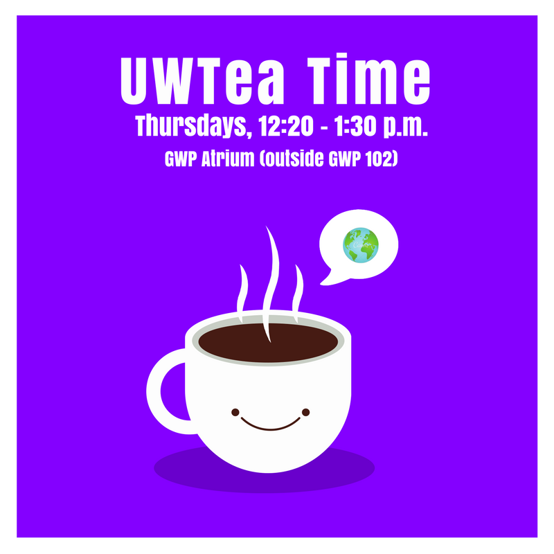 CANCELED - UWTea Time