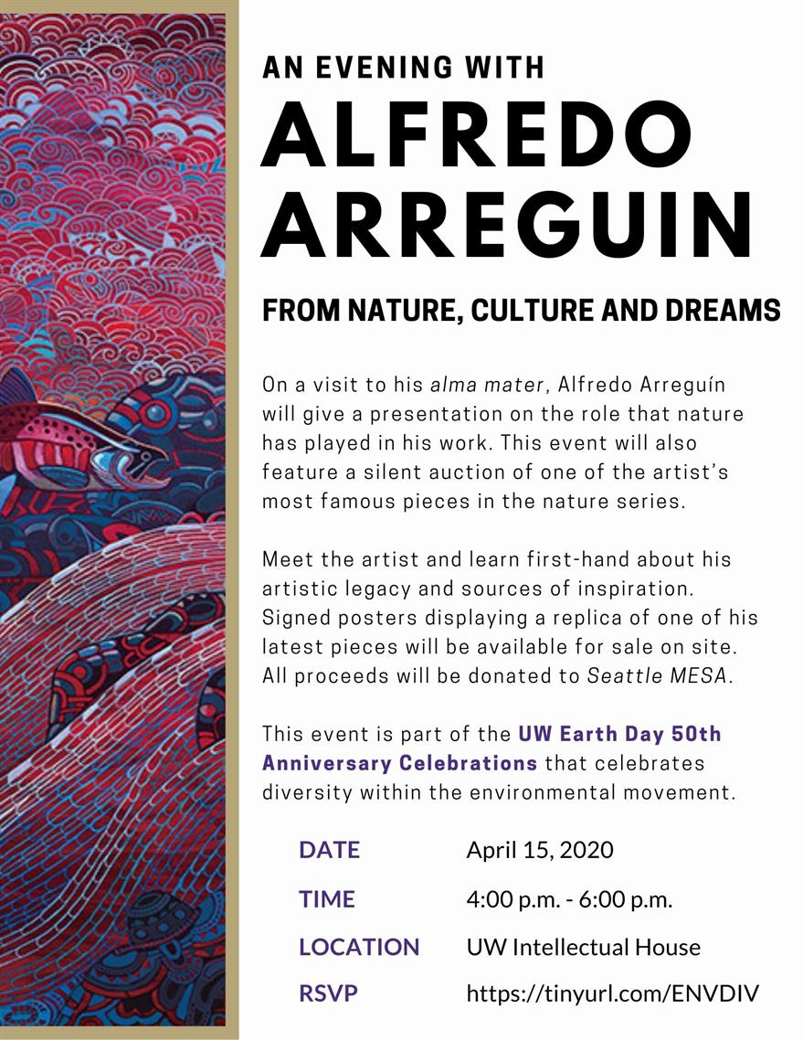An Evening with Alfredo Arreguín. From Nature, Culture, and Dreams