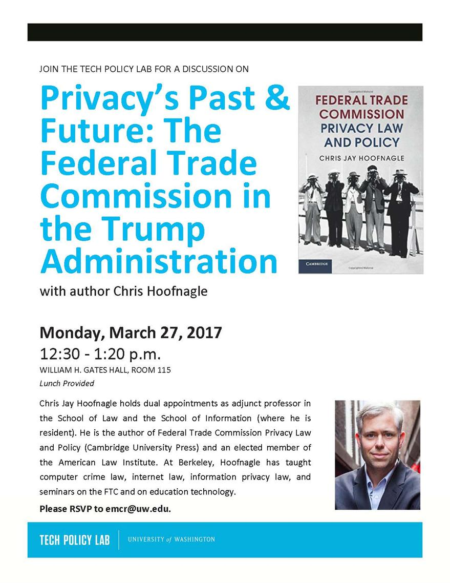 Privacy's Past & Future: The Federal Trade Commission in the Trump Administration