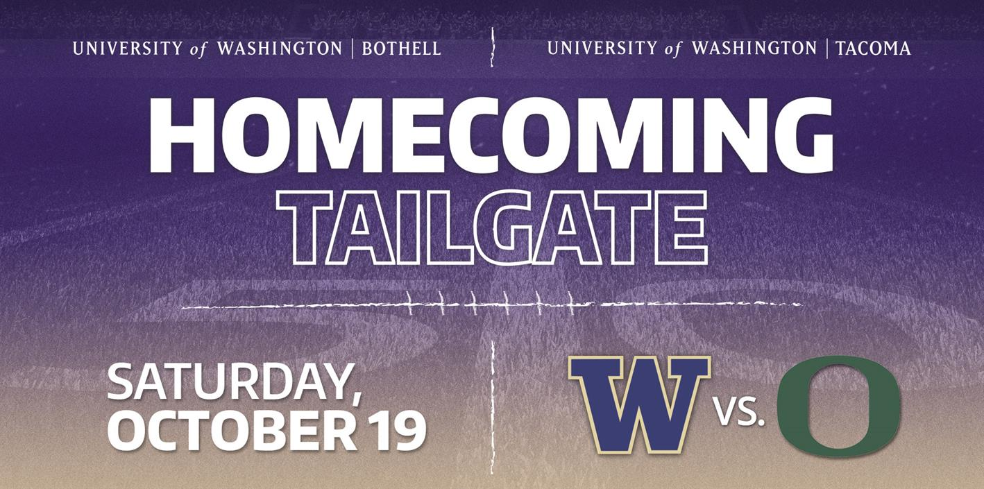 Homecoming Tailgate in the E1 Lot