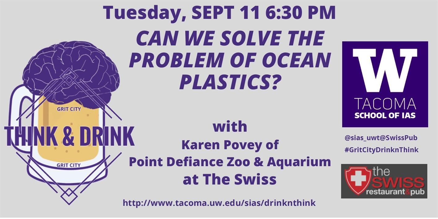 Can We Solve the Problem of Ocean Plastics? --Grit City Think&Drink