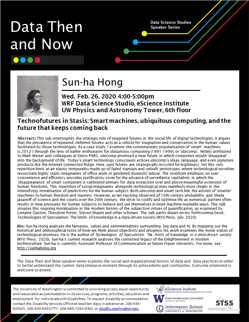 """Technofutures in Stasis: Smart machines, ubiquitous computing, and the future that keeps coming back"" by Sun-ha Hong"