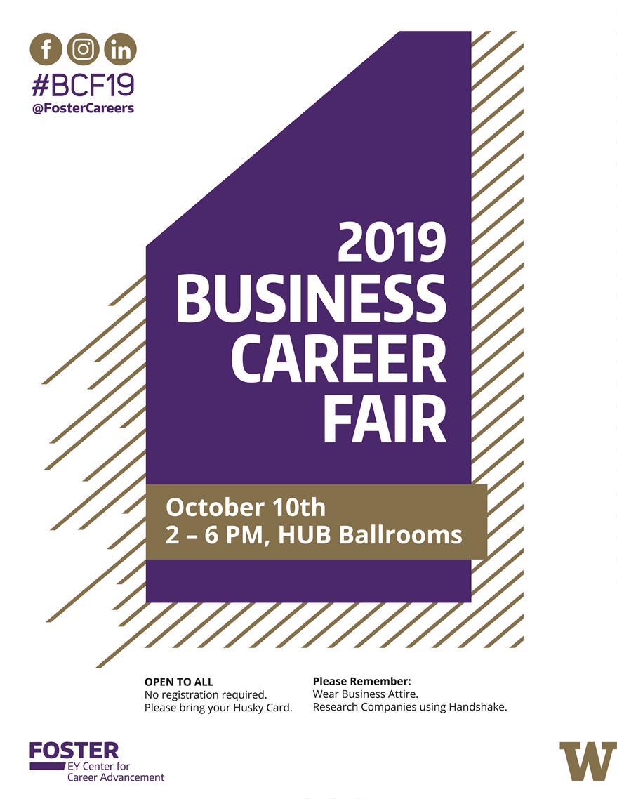 2019 UW Seattle Business Career Fair
