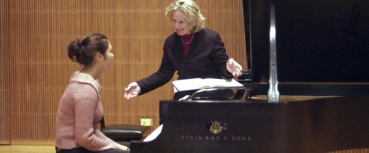 Master Class; Ursula Oppens, piano
