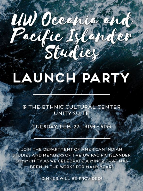 Oceania and Pacific Islander Studies Launch Party