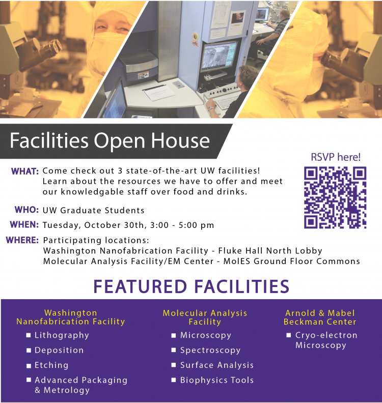 Facilities Open House for grad students