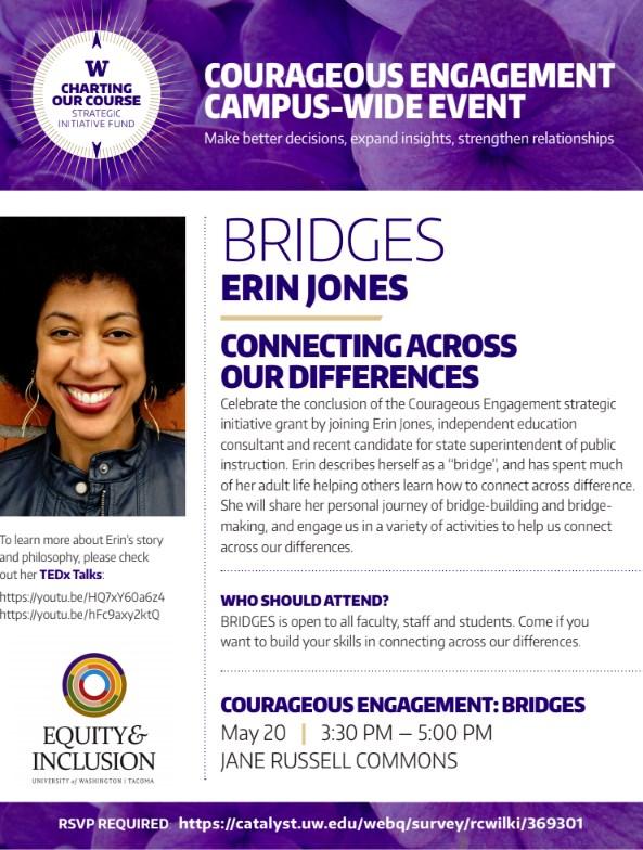 Courageous Engagement: Bridges w/ Erin Jones