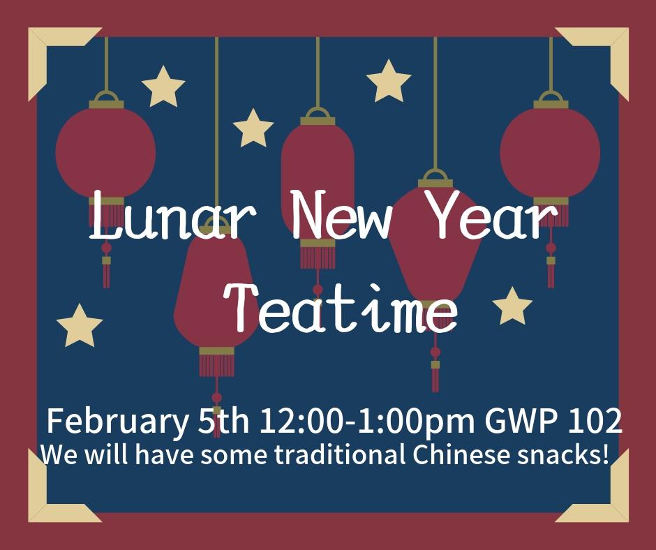 UWTea Time - Lunar New Year
