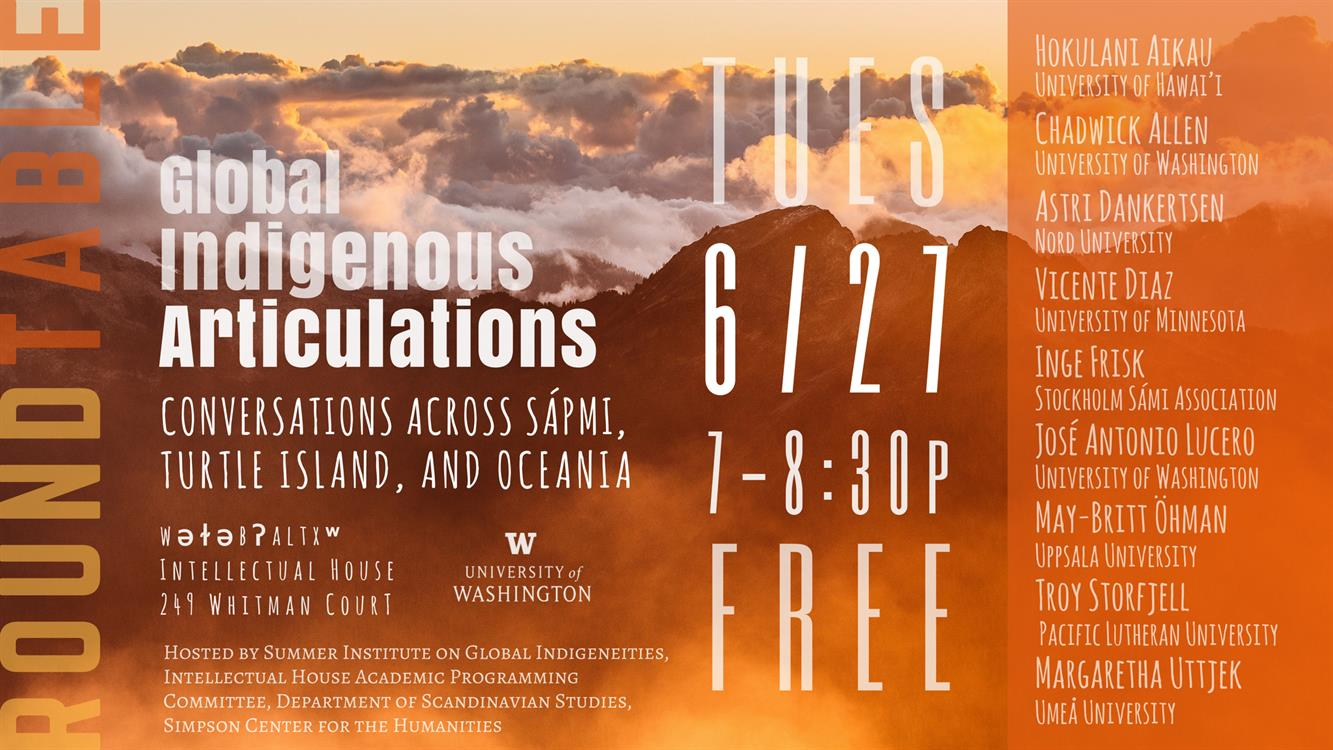 Global Indigenous Articulations Roundtable