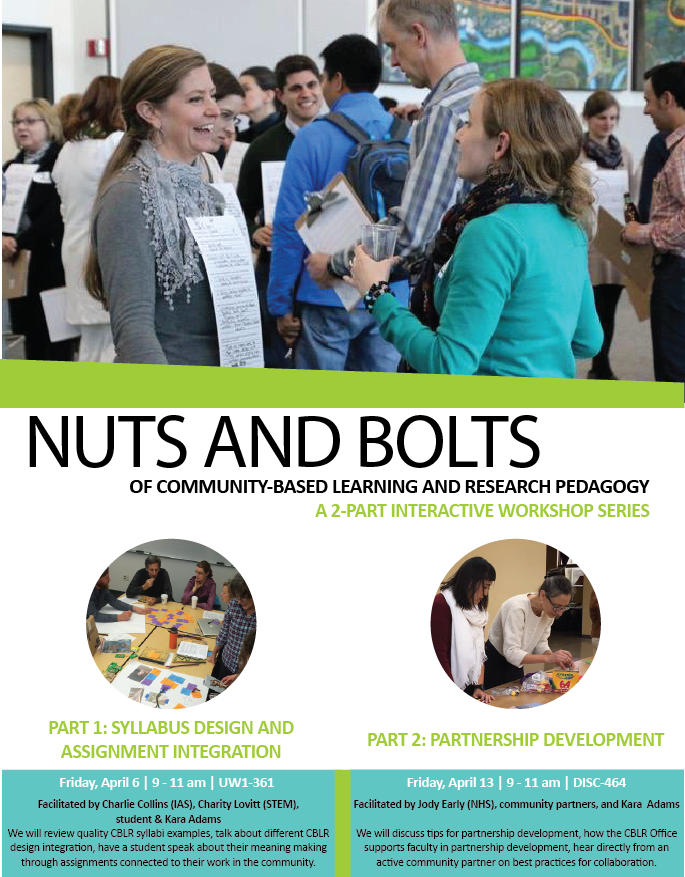 CBLR Nuts & Bolts 101 Interactive Workshops