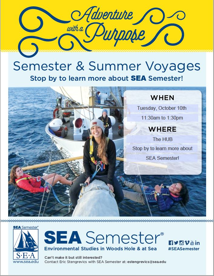 Sea Semester Information Session