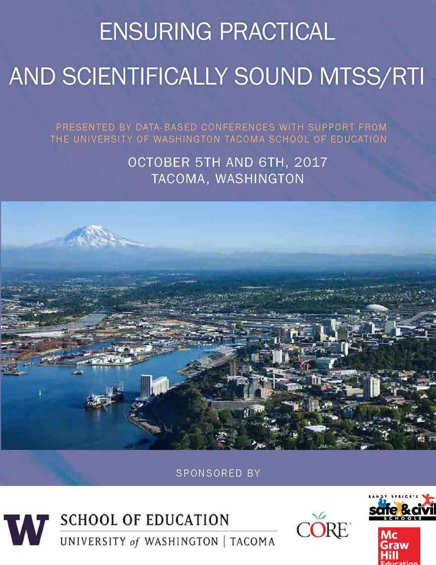 Pacific Northwest MTSS Conference