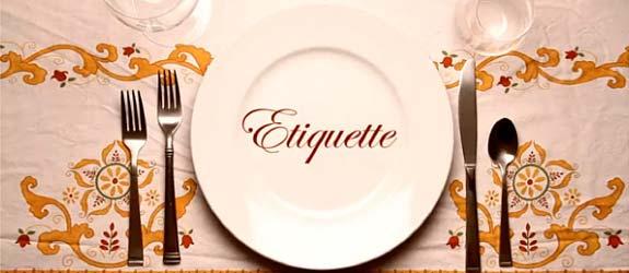 15th Annual Etiquette Dinner