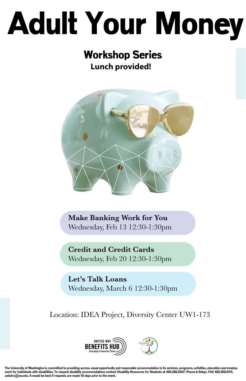 Adult Your Money Workshop Series