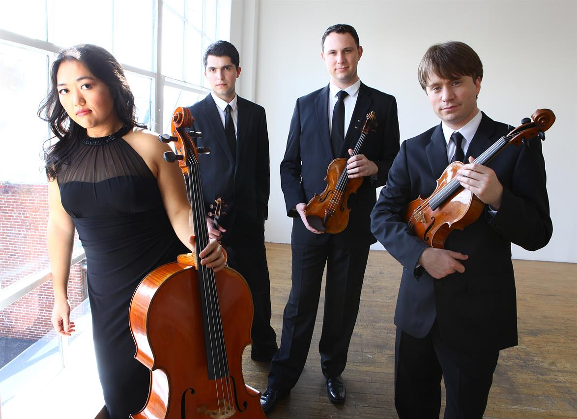 CALIDORE STRING QUARTET WITH DAVID FINCKEL & WU HAN