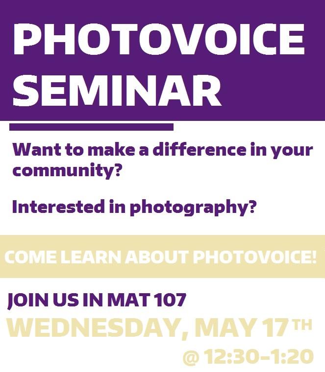 PhotoVoice- Seminar