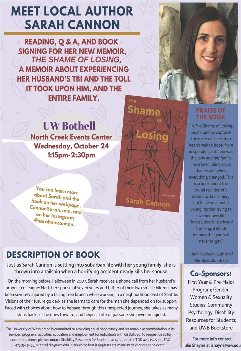The Shame of Losing  with Sarah Cannon