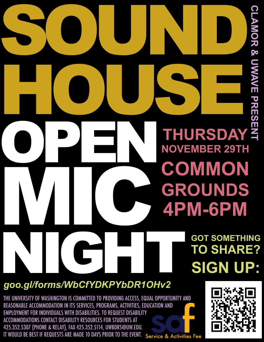 Sound House Open Mic Night