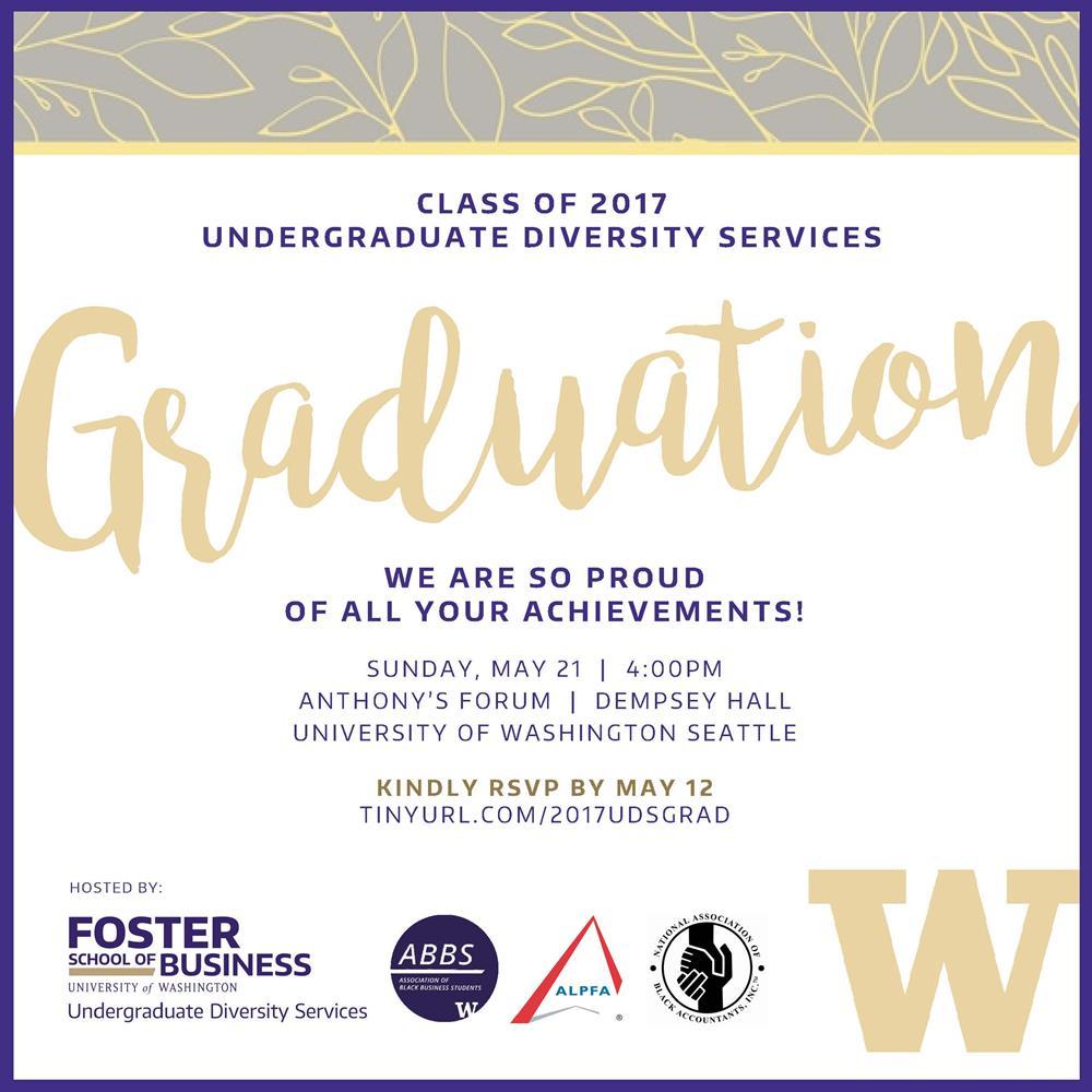 Foster UDS Graduation