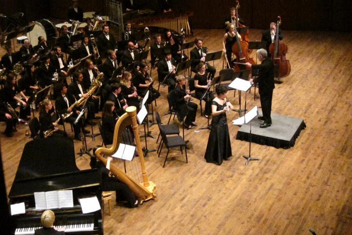 UW Wind Ensemble and Symphonic Band with Wind Ensemble Concerto Competition Winners