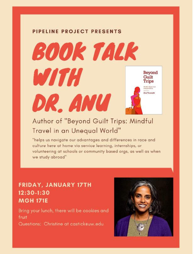 Book Talk: Beyond Guilt Trips, by Dr. Anu Taranath