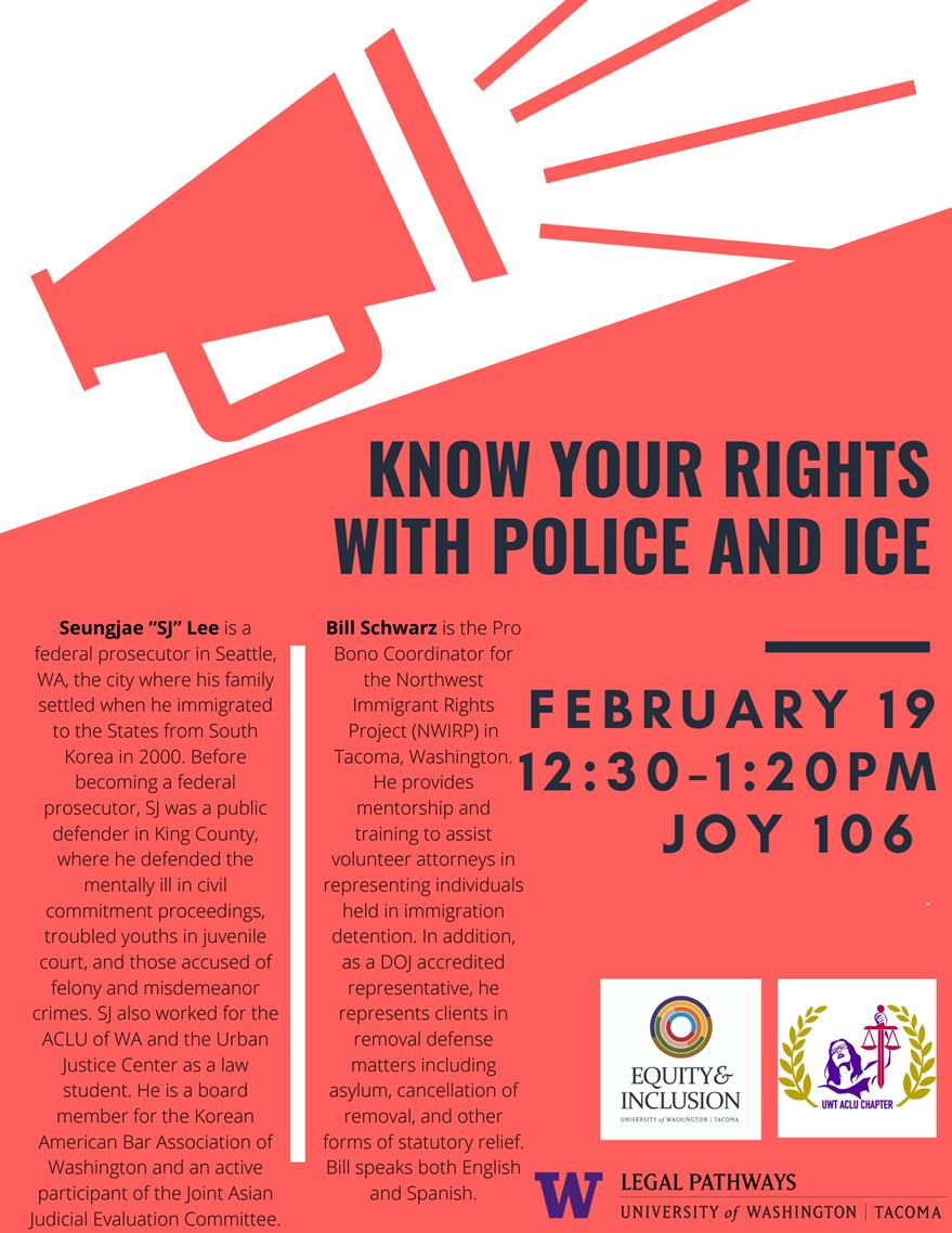 Know Your Rights with Police and ICE