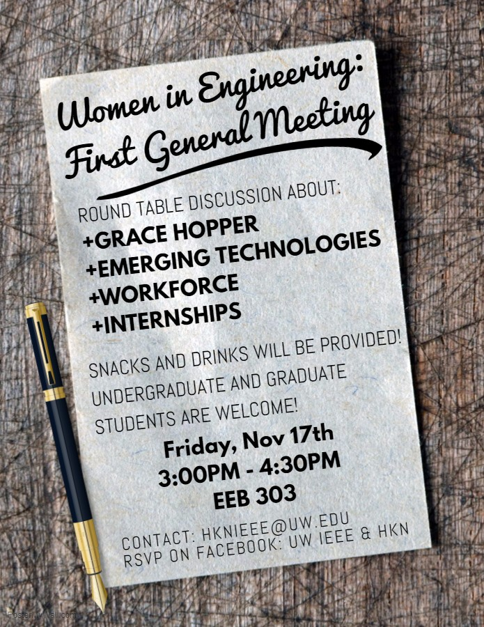 Women in Engineering - First General Meeting