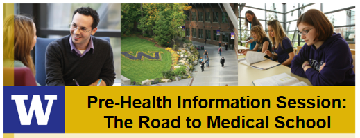 Pre-Health Information Session: The Road to Medical School
