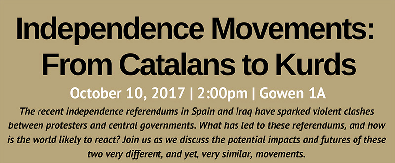 TALK | Independence Movements: From Catalans to Kurds