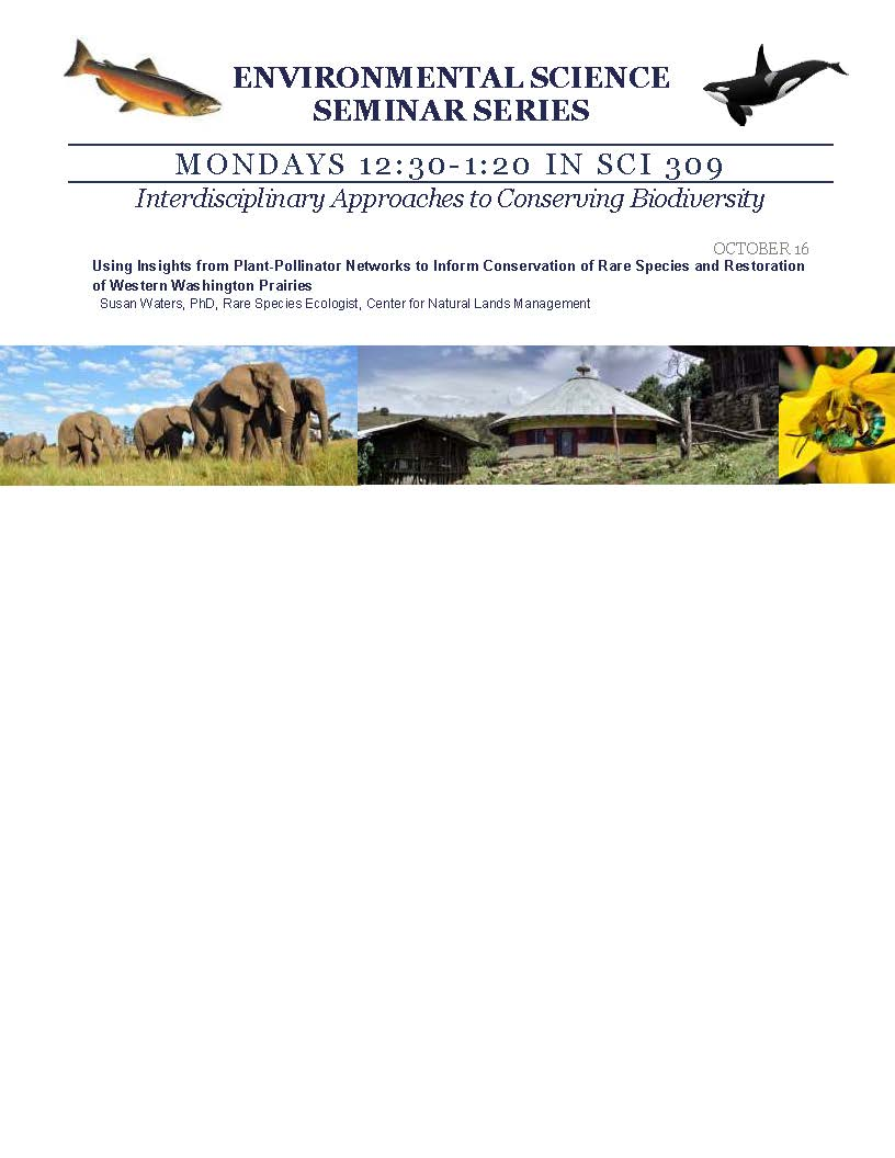 Environmental Science Seminar Series: Rare Species & Restoration