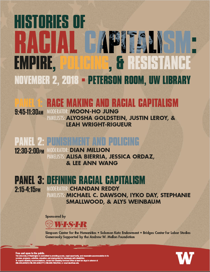Histories of Racial Capitalism: Empire, Policing, and Resistance