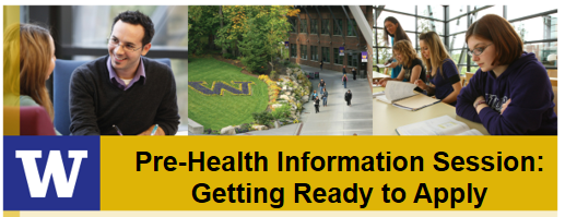 Pre-Health Information Session: Getting Ready to Apply