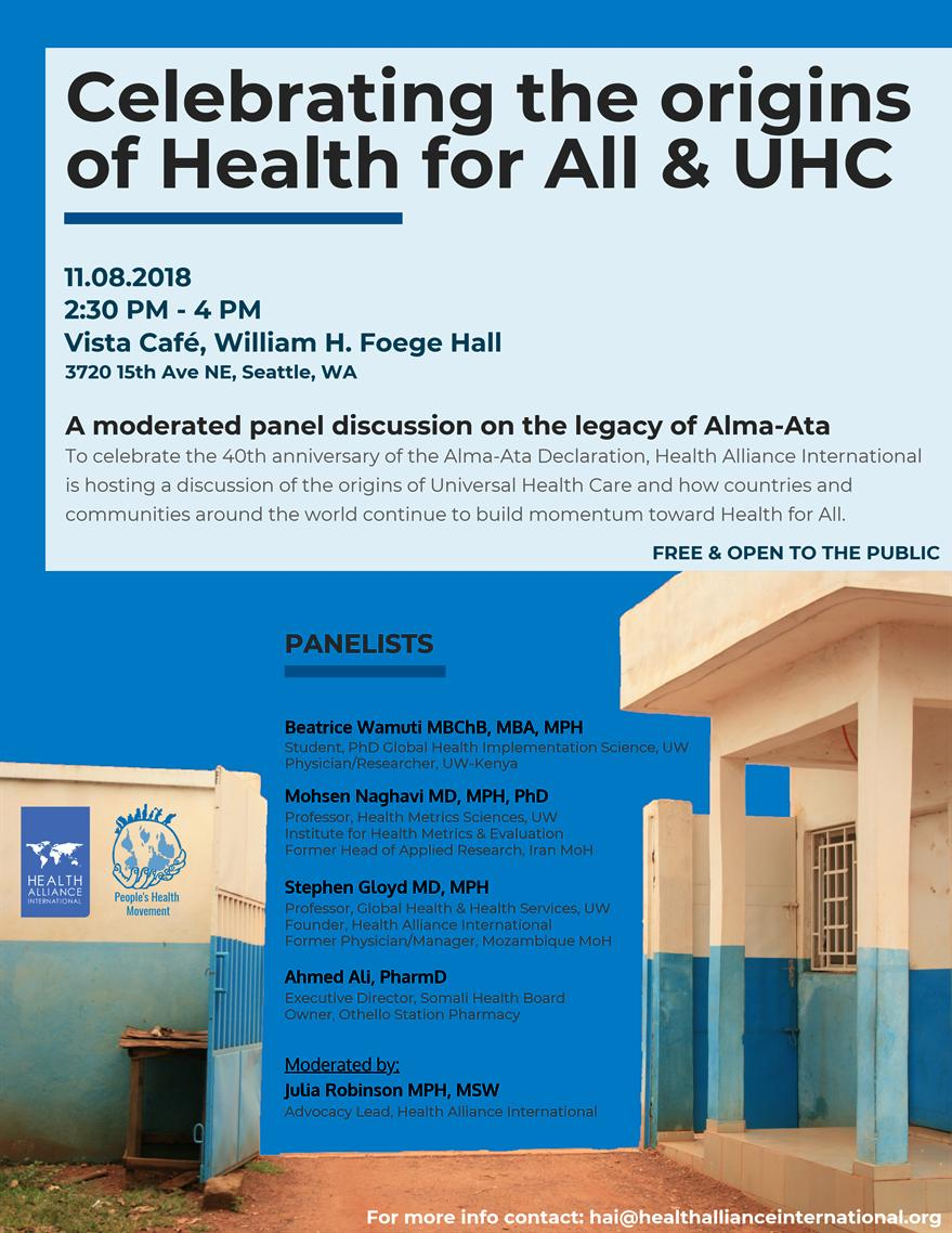 Celebrating the Origins of Health for All & UHC