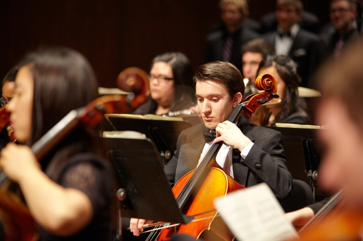 UW Symphony with Concerto Competition Winners