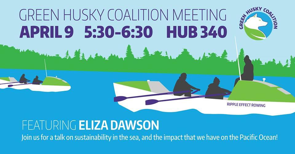 Green Husky Coalition meeting featuring Eliza Dawson