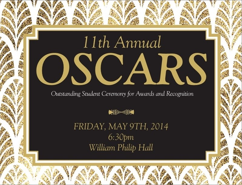 11th Annual OSCARS