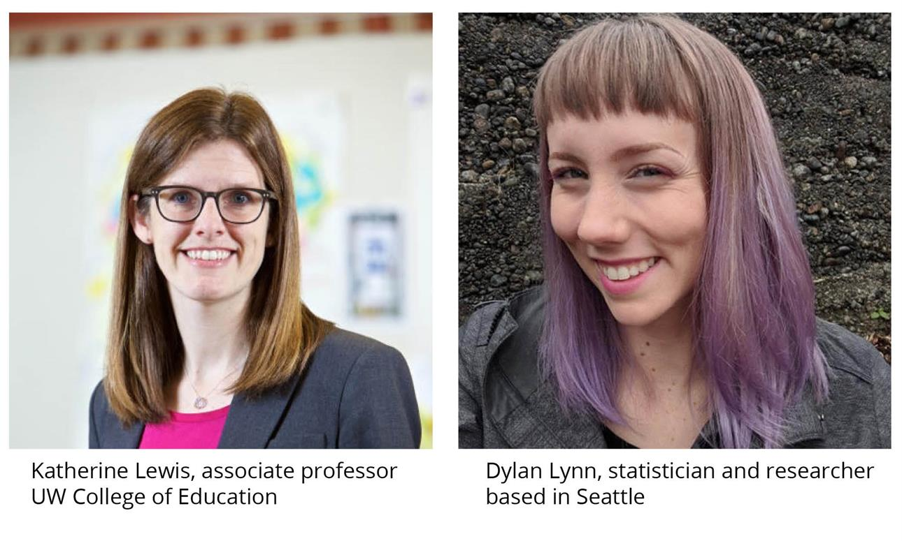 """Advances in Higher Education Research Seminar: """"Against the Odds: Insights From a Statistician With Dyscalculia"""" with Katherine Lewis and Dylan Lynn"""
