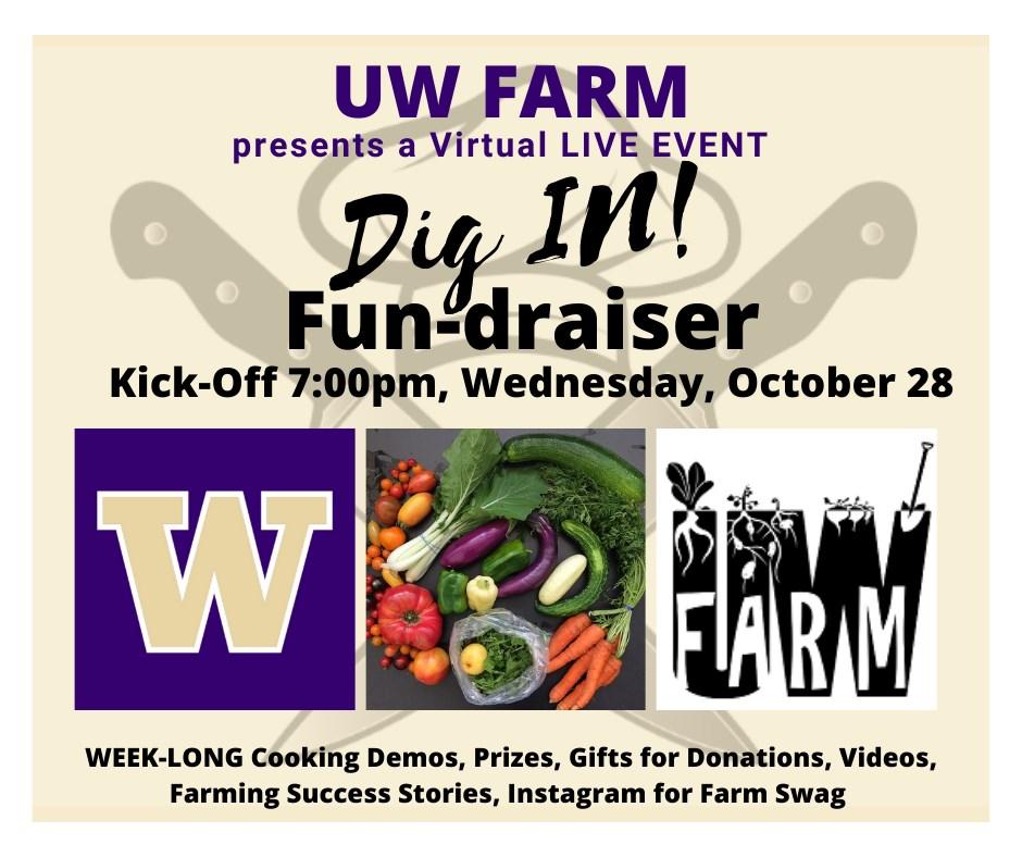 UW Farm Dig In! Fun-draiser